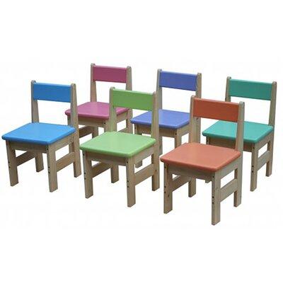 Детский стульчик цветной из сосны производства Irelle - главное фото