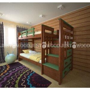 Двухьярусная детская кровать Авоська