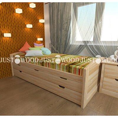 Подростковая кровать Капитошка производства JUSTWOOD - главное фото