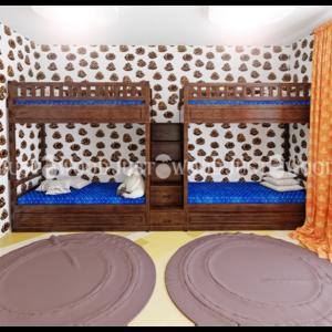Двухъярусная кровать Квартет