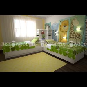 Подростковая кровать Мадагаскар