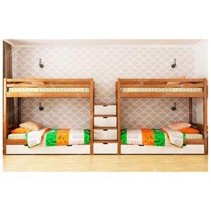 Двухэтажная кровать Чип и Дейл