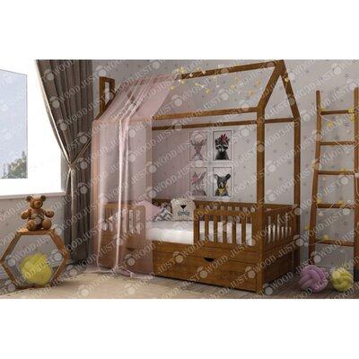 Деревянная кровать домик Маленький дом производства JUSTWOOD - главное фото
