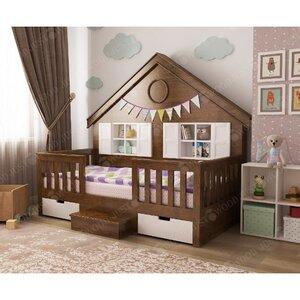 Деревянная кровать домик Мечта