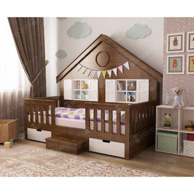 Деревянная кровать домик Мечта производства JUSTWOOD - главное фото