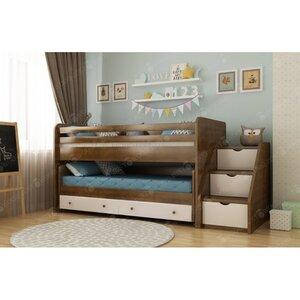 Двухэтажная кровать Русалочка