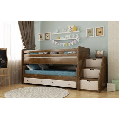 Двухэтажная кровать Русалочка производства Justwood - главное фото