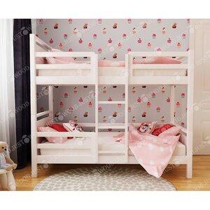 Двухъярусная кровать Зефирка