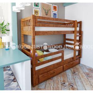 Двухъярусная кровать Панда