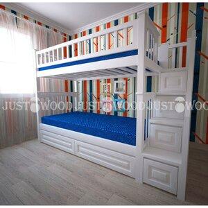 Двухьярусная кровать Простоквашино +