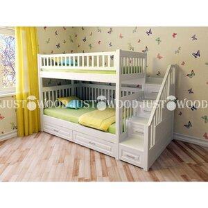 Двухьярусная кровать Простоквашино с платформой