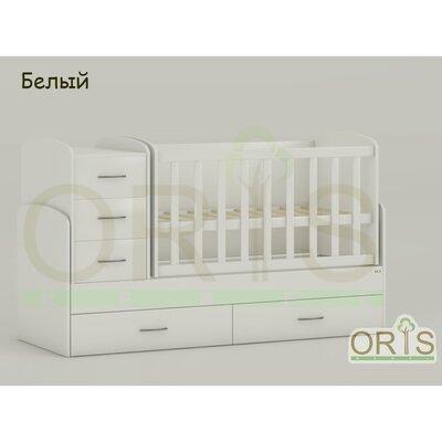 Кровать-трансформер Oris Maya белый производства ORIS - главное фото
