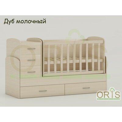 Кровать-трансформер Oris Maya дуб молочный производства ORIS - главное фото