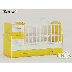 Кровать-трансформер Oris Maya желтый