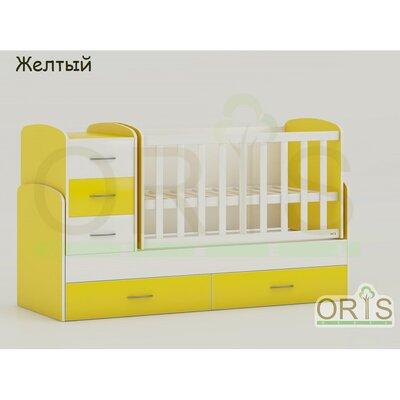 Кровать-трансформер Oris Maya желтый производства ORIS - главное фото