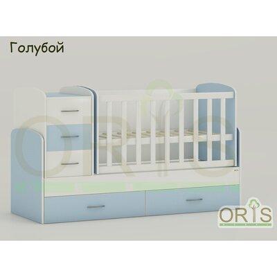 Кровать-трансформер Oris Maya голубой производства ORIS - главное фото