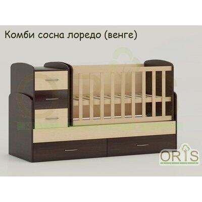 Кровать-трансформер Oris Maya комби сосна лоредо (венге) производства ORIS - главное фото