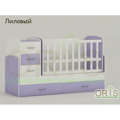 Кровать-трансформер Oris Maya лиловый производства ORIS - главное фото