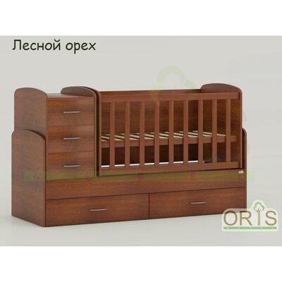 Кровать-трансформер Oris Maya орех