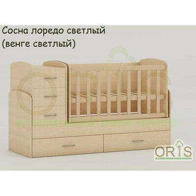 Кровать-трансформер Oris Maya сосна лорендо (венге светлый) производства ORIS - главное фото