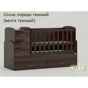 Кровать-трансформер Oris Maya сосна лорендо (венге темный)