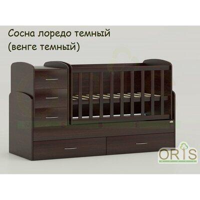 Кровать-трансформер Oris Maya сосна лорендо (венге темный) производства ORIS - главное фото