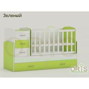 Кровать-трансформер Oris Maya зеленый