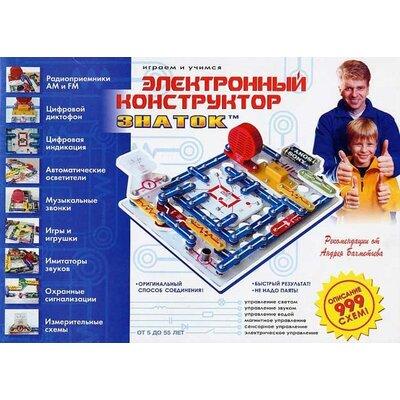 Конструктор Знаток на 999 схем производства Знаток - главное фото