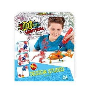 Набор для детского творчества с 3D-маркером - МАЛЬЧИКИ