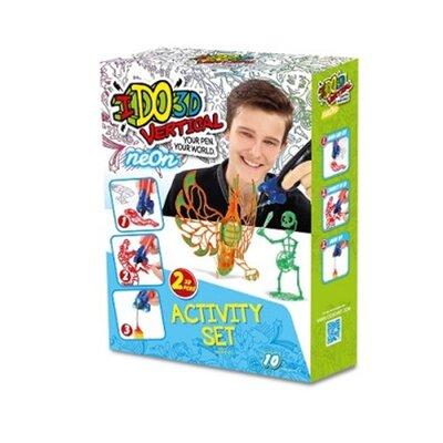 Набор для детского творчества с 3D-маркером - НЕОН производства  - главное фото