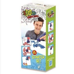 Набор для детского творчества с 3D-маркером - ТРАНСПОРТ
