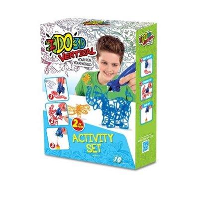 Набор для детского творчества с 3D-маркером - ЗООПАРК производства  - главное фото