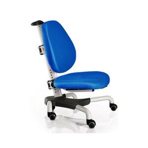 Детское кресло Mealux Nobel Y-517 WKB белый металл / обивка  синяя