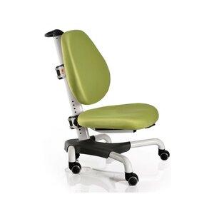 Детское кресло Mealux Nobel Y-517 WKZ белый металл / обивка зеленая