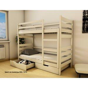 Двухъярусная кровать Амели из бука