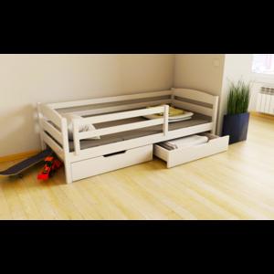 Подростковая кровать Хюго из бука (массив)