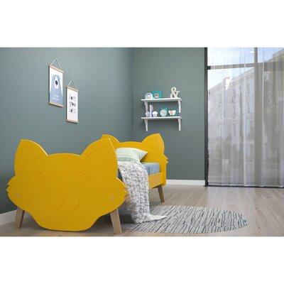 Детская односпальная кровать Бобкет производства ЛунаСвит - главное фото