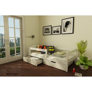 Подростковая кровать Мартель из бука(щит)