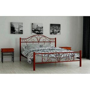 Двуспальная  кровать Элиз