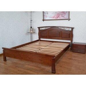 Двуспальная кровать Марго (160*200,орех,25мм)