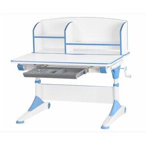 Детский стол Evo-Kids Alberto (с полкой) голубой