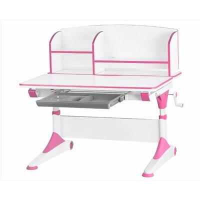 Детский стол Evo-Kids Alberto (с полкой) розовый производства Mealux - главное фото