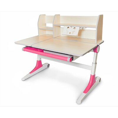 Детский стол Evo-Kids Ontario розовый производства Mealux - главное фото