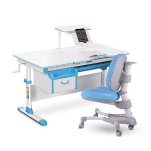 Комплект парта и кресло Evo-kids Evo-40 голубой
