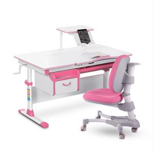 Комплект парта и кресло Evo-kids Evo-40 розовый