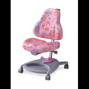 Детское кресло Mealux Florencia CPK обивка розовая цирк