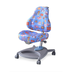 Детское кресло Mealux Florencia CBK обивка голубая цирк