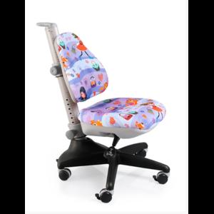 Детское кресло Mealux Conan GL обивка сиреневая с девочками