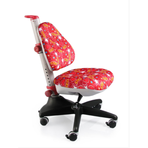 Детское кресло Mealux Conan ST обивка красная со звездочками