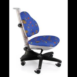 Детское кресло Mealux Conan BB обивка синяя с жучками